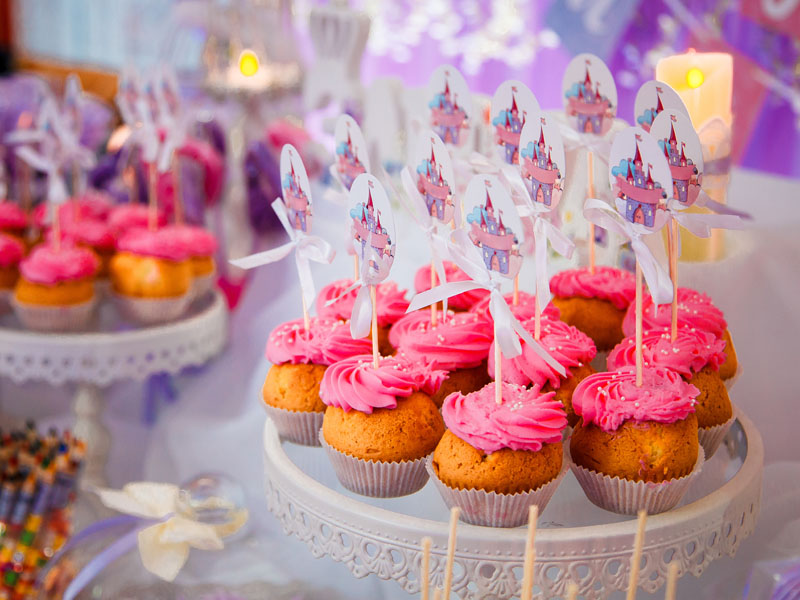 Muffins Kids Party Mauritius Catering Rambros